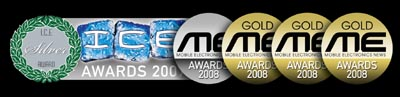 Gold award at 2008 ME awards for best fleet management system